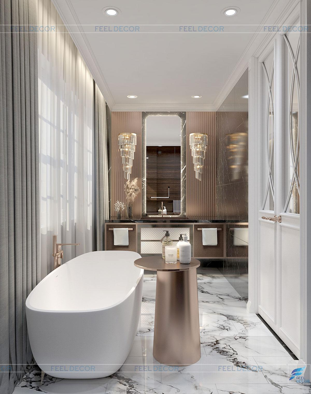 Thiết kế thi công nội thất nhà phố Vạn Phúc Riverside Thủ Đức