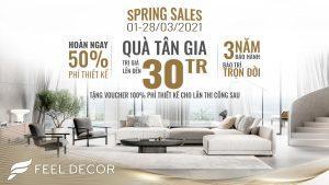 Spring sales 2021
