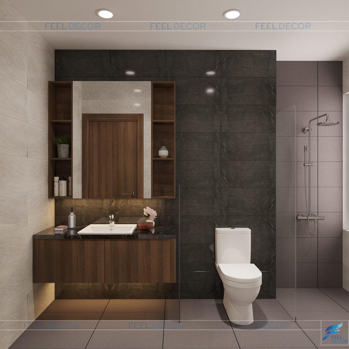 Thiết kế WC phòng ngủ 3