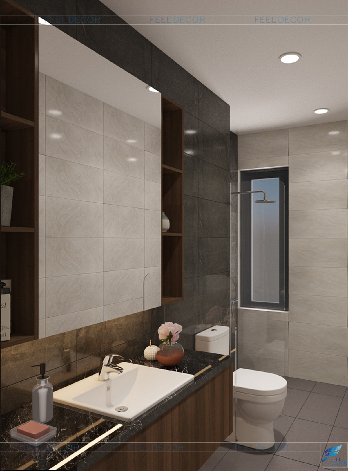 WC phòng ngủ 3