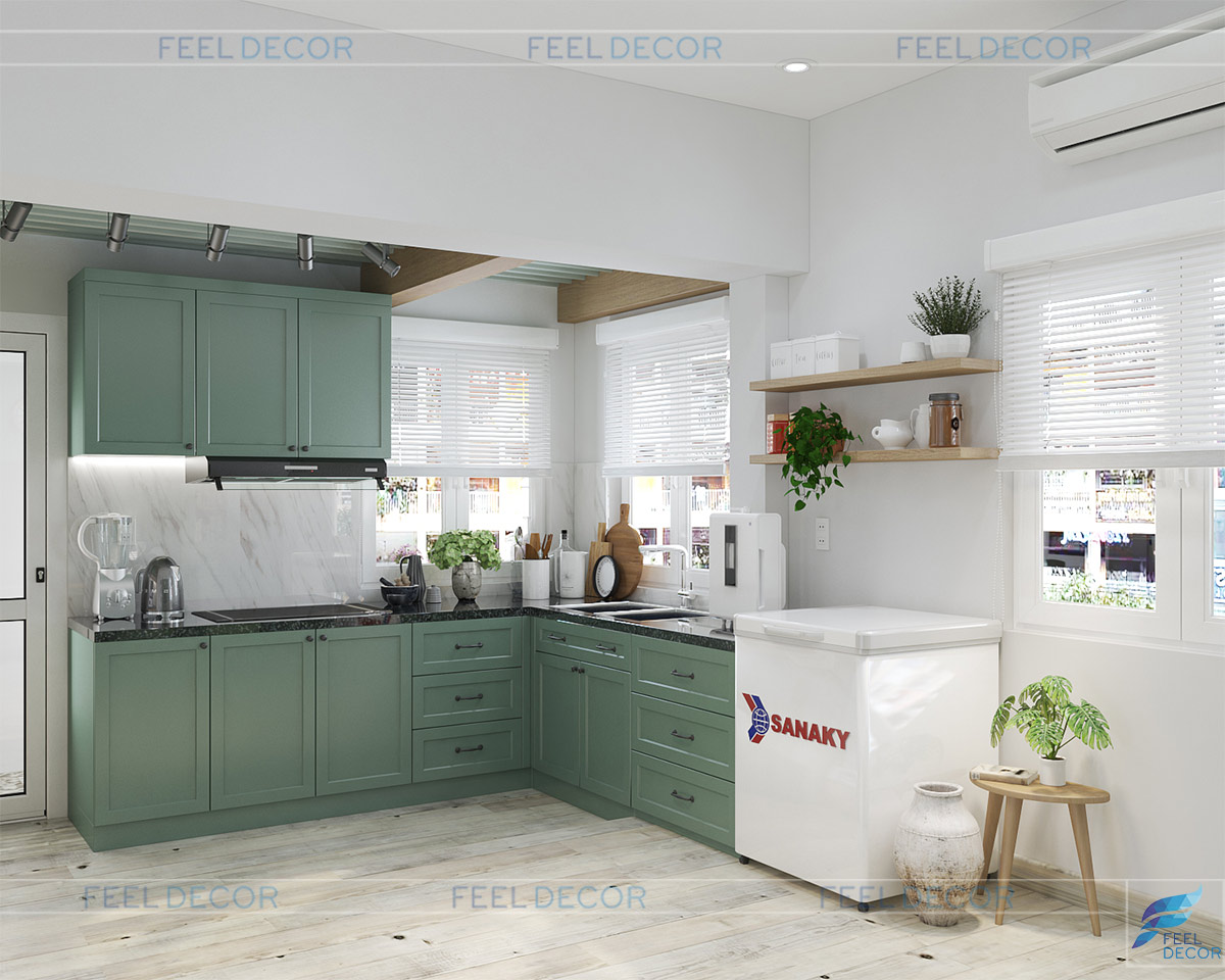 Thiết kế thi công nội thất tủ bếp