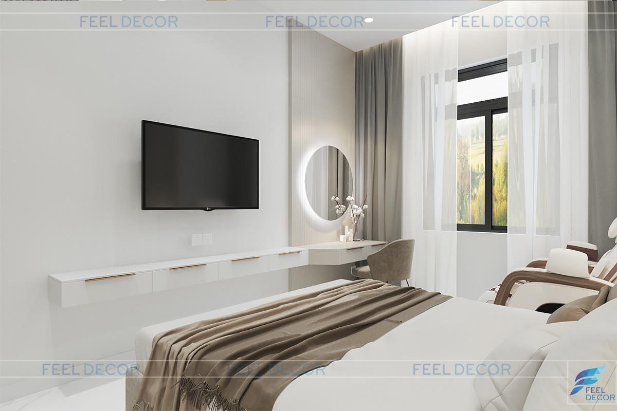 Thiết kế phòng ngủ người cao tuổi