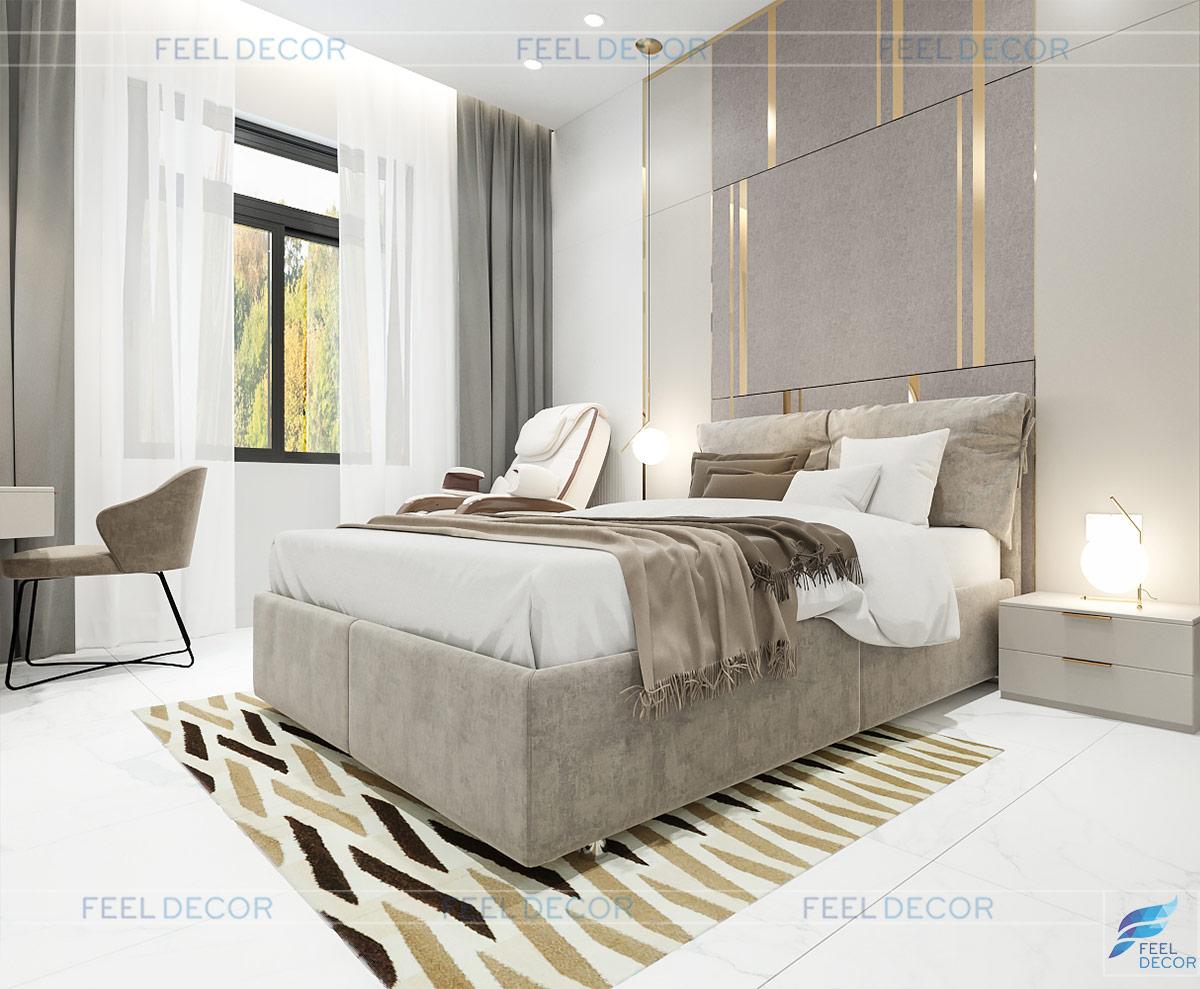 Thiết kế phòng ngủ tầng trệt