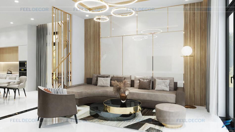 Thiết kế thi công nội thất biệt thự mini Rạch Giá
