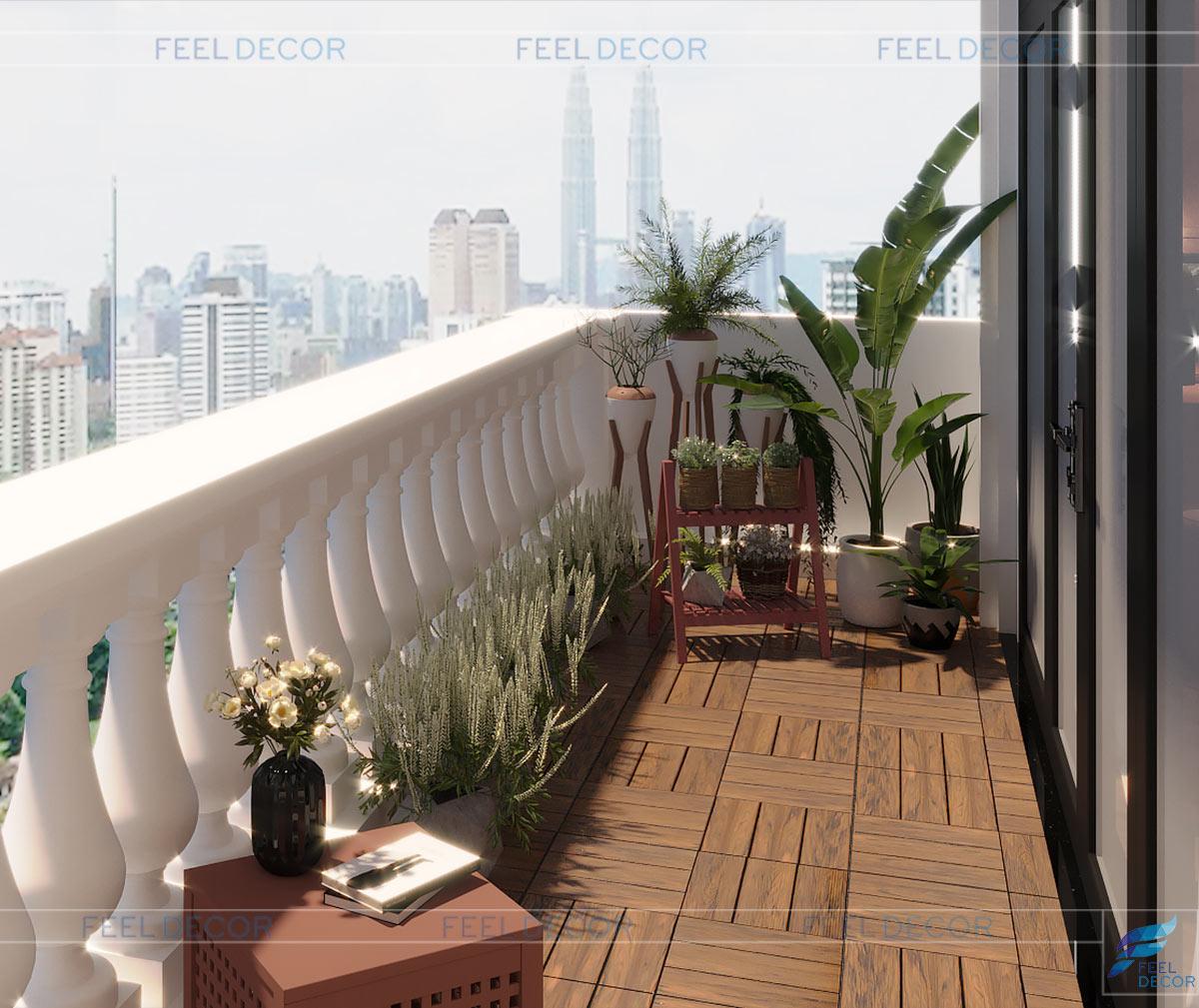 Thiết kế thi công nội thất nhà phố Vinhome Mỹ Tho – anh Lâm