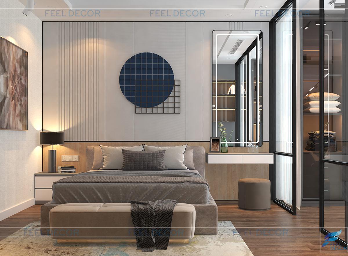 Thiết kế thi công nội thất nhà phố Cà Mau - anh Tứ